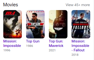 Results for: Movies